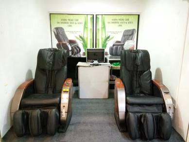 Kerusi urut vending massage chair dengan lokasi