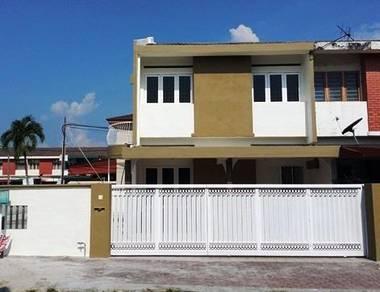 Perak, Ipoh, Taman Perak, Rumah 2 Tingkat Unit Tepi