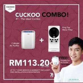 Cuckoo COMBO DEAL King Top + C model 113.20 sebula
