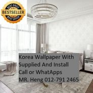 Design Decor Wall paper with Install 4rf