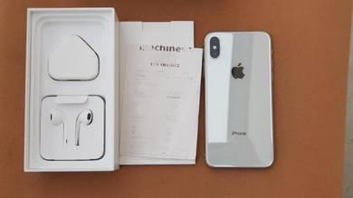 IPhone X 256gb My Set (10 month Warranty)