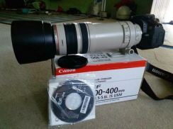 Canon lens 100-400mm f4.5 is usm