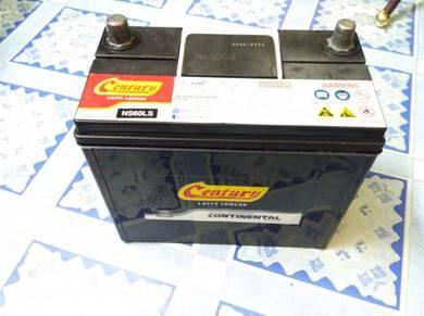 Bateri Century Continental ns60 car battery