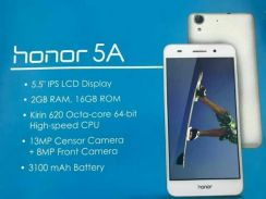 Honor 5a new