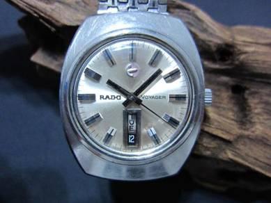 Kenji Rado Voyager Date AT 35mm full ori OH Swiss