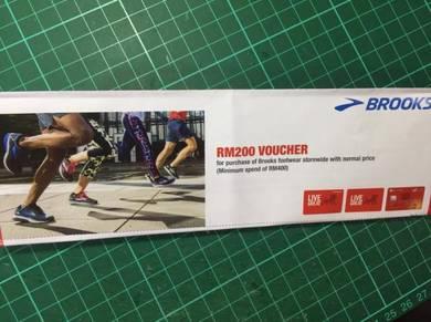 BROOKS Voucher RM 200
