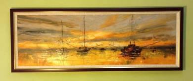 Original handmade oil painting code A27