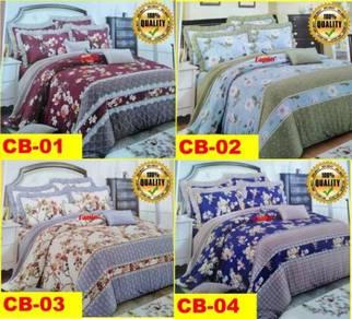 Cadar Set 7 IN 1 COMFORTER Bed Sheet