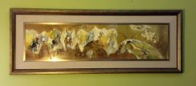 Original Handmade oil painting Code A12