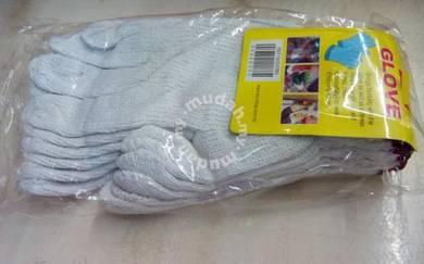 6 pc Hand Glove sarung tangan kain camping cam kem