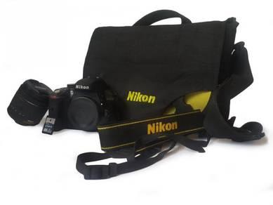 Nikon D3300 + Lens 18-55mm full set