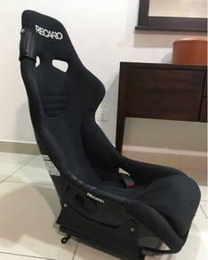 RECARO RS-GE black velour