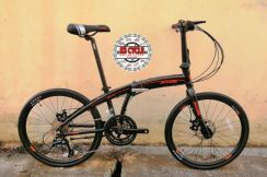 Folding Bike XDS 920 Evo Orange Basikal Lipat