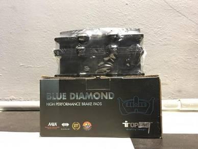 Brake Pad Blue Diamond Hana4x4Perak