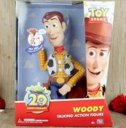 20th Talking Woody 20 phrases action figure Disney