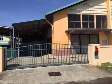 Warisan Indah Semi-detached Warehouse, Inanam