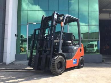 TOYOTA Petrol/Gas Forklift 1.5ton ( 02-8FGL15)