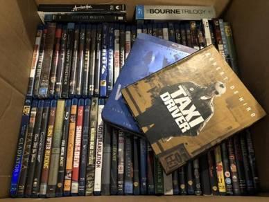 Blu Rays 70+ Titles