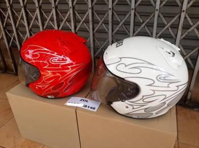 Helmet Shoei Jf2 Jack Red & White OFFER