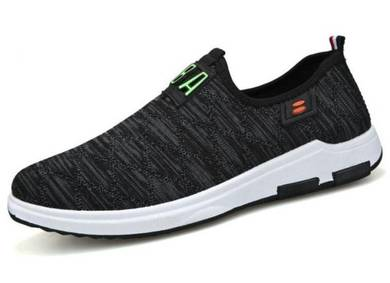 F0263 Breathable Slip On Sneakers Sports Shoes