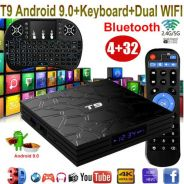 Android tv box full HD Pro 4k+T9new