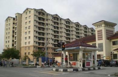 Pangsapuri Perdana Shah Alam Seksyen 13 850sqft 100% Full Loan