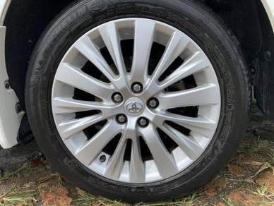 18 Toyota Vellfire Rim