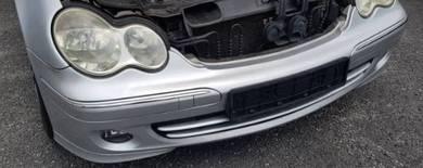 W203 facelift complete bumper