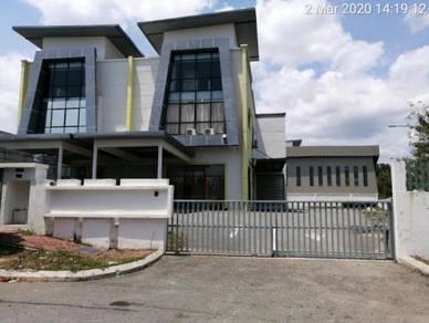 Factory 2 Storey Semi Detached [Beranang] FREEHOLD (13,100 sqft)