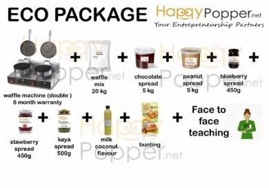 Package waffle paling murah pakej business