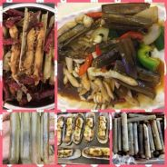 Delicious bamboo clam 60 pcs