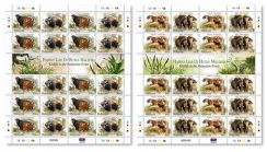 Mint Stamp Sheet Wildlife in Malaysia Forest 2004
