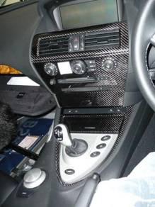 Original BMW E63 9pcs Carbon Fiber Interior Trims