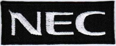 NEC F1 Car Racing Badge Iron On Embroidered Patch