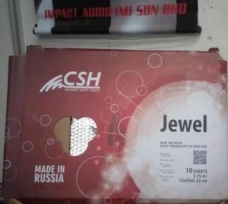 JEWEL car soundproof 10 big pcs( made in Russia )