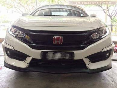 Honda civic fc ativus bodykit v1 with paint ppu