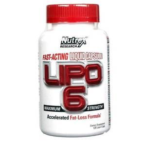 Nutrex Lipo 6 fat burner bakar lemak