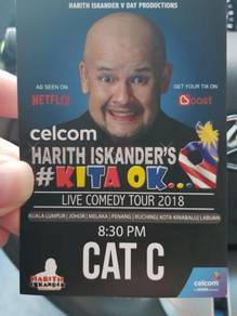 Harith Iskandar Comedy Tour 14/3/18