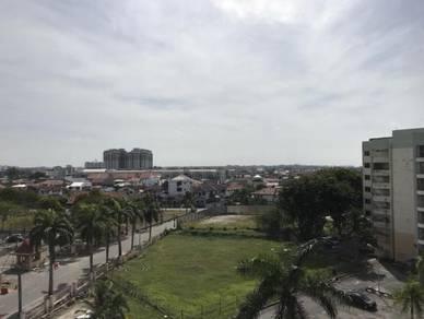 Three room apartment at Garden City, Melaka Raya, melaka