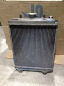 Radiator kelisa double layer with fan motor (ori)