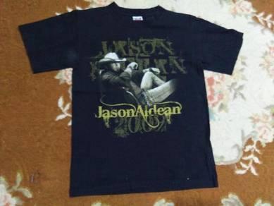 Jason aldean t shirt tour 2009 size s