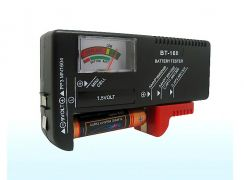 Universal Battery Tester AA 9V AAA Button