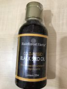 Rainforest Herbs Cold Pressed Black Seed Oil 200ML