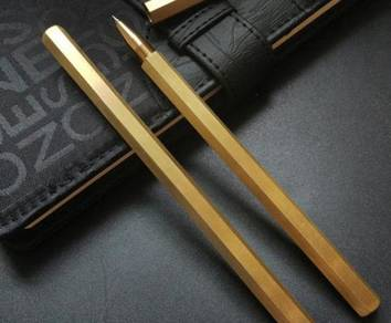 Hexagonal Brass Pen Tembaga