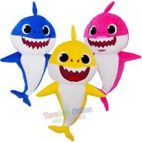 Baby Shark Plush Toy Soft Toy 48cm 3 colour