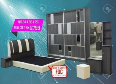 5 Pcs Bedroom set (M-FN-04 )21/06