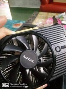 GTX 1050 2GB (Brand Zotac)