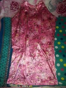 Baju kurung pink colour