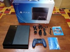 Ps4 500gb secondhand full set