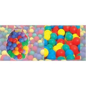 Plastic Pool Balls 100 pcs (IXT-070B)